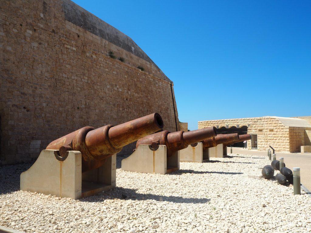 聖エルモ砦の内部