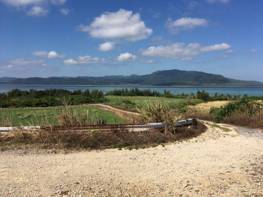 西表島が間近に見えるアカヤ崎