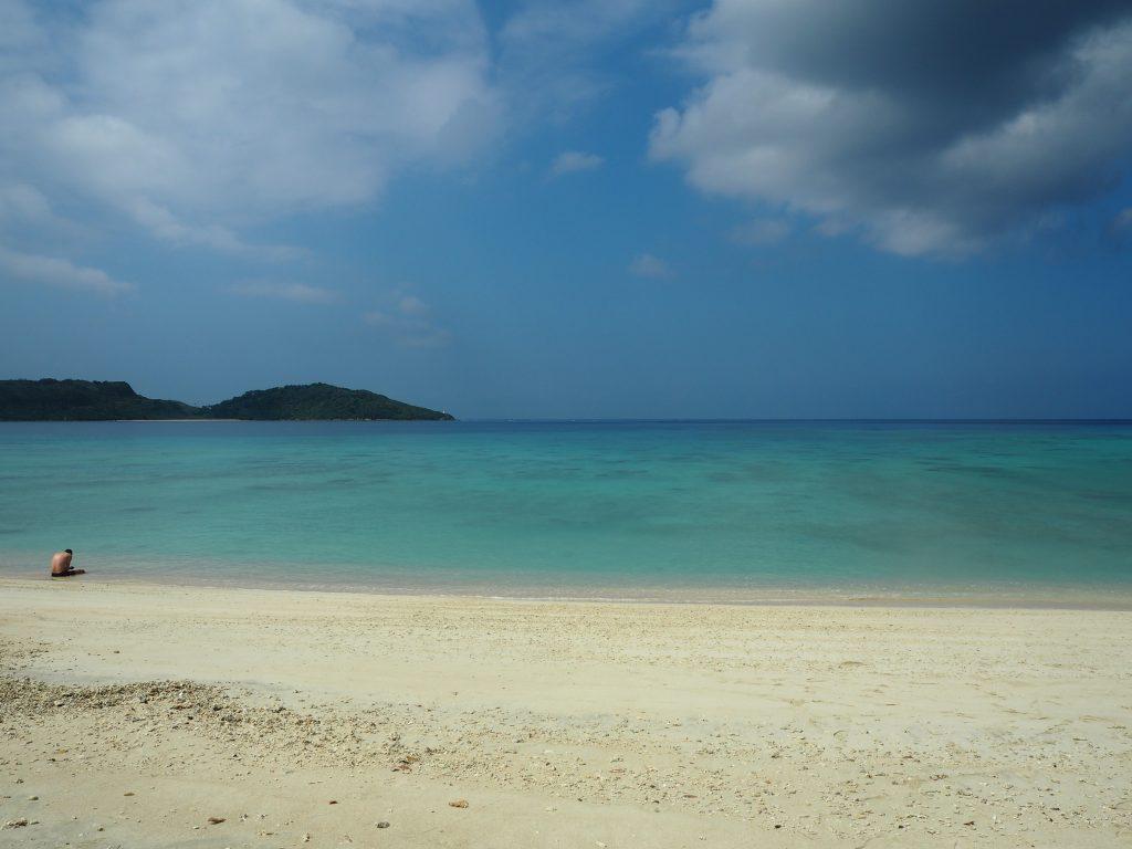 時を忘れていつまでも滞在していたくなるビーチだ