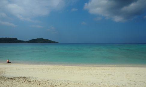 時を忘れていつまでも滞在していたくなるビーチである
