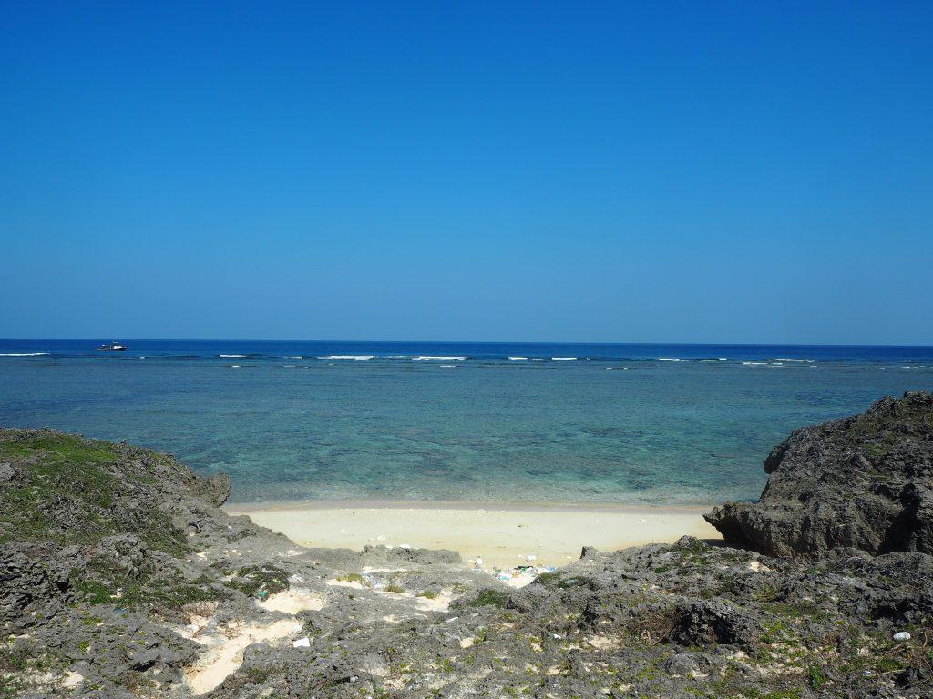 島の北側にある立原浜(たちばるはま)