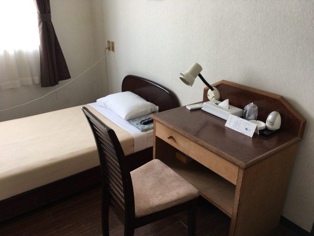 「ホテル入船」の客室(洋室)
