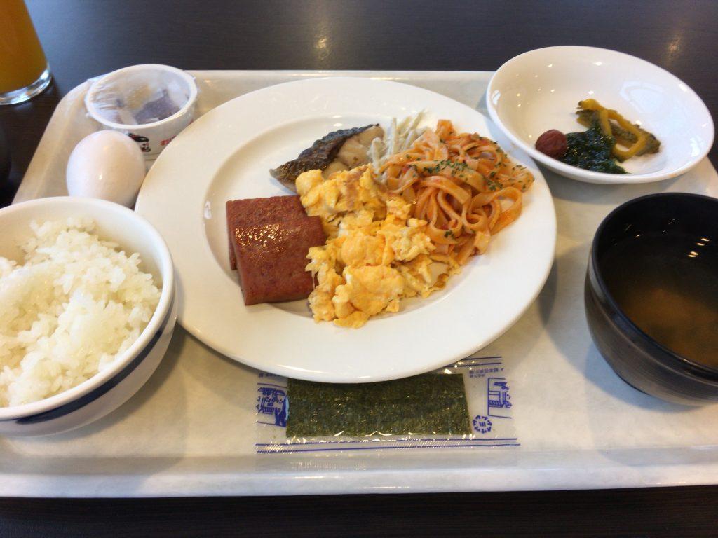 「アイランドホテル与那国」の朝食
