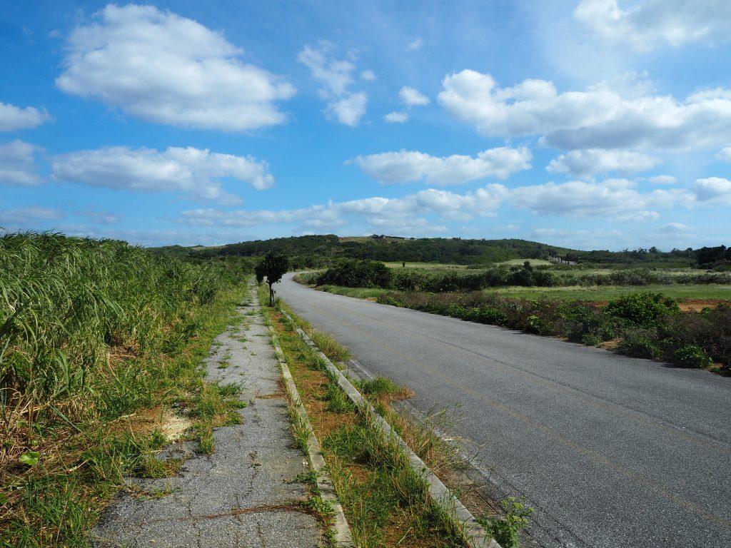 与那国島の一周道路