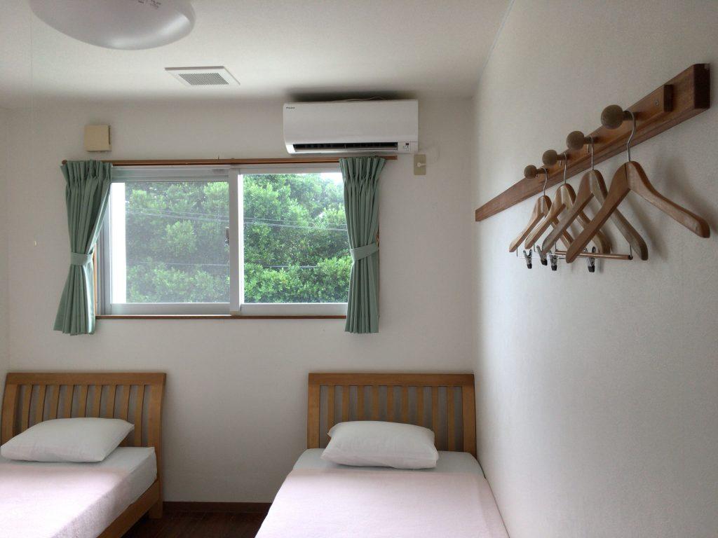 「ホテルオーシャンズ」の客室(ツインルーム)
