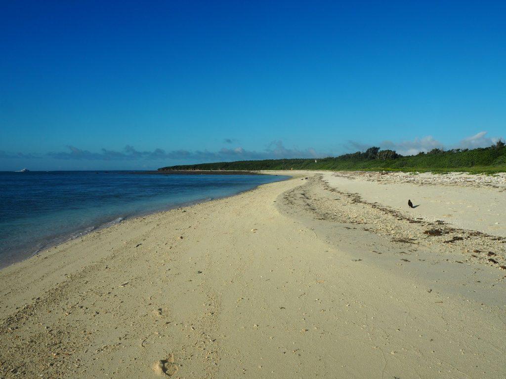 アイヤル浜。広くて静かなビーチだ