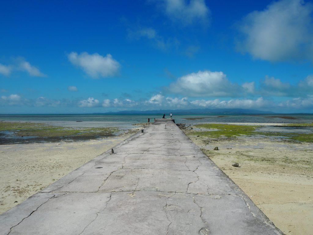 干潮時の西桟橋
