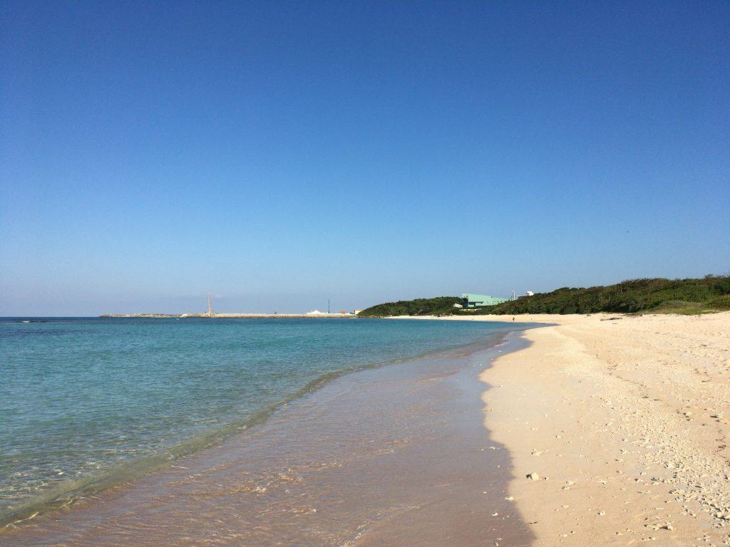 ニシ浜の全景