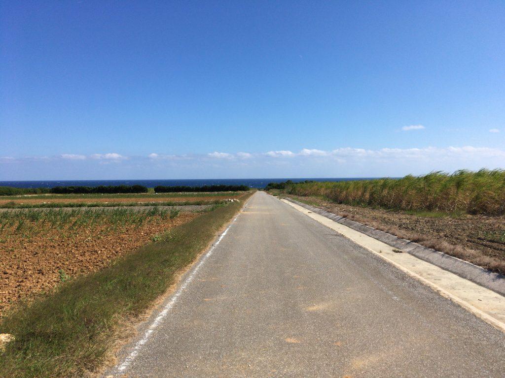 波照間島の風景