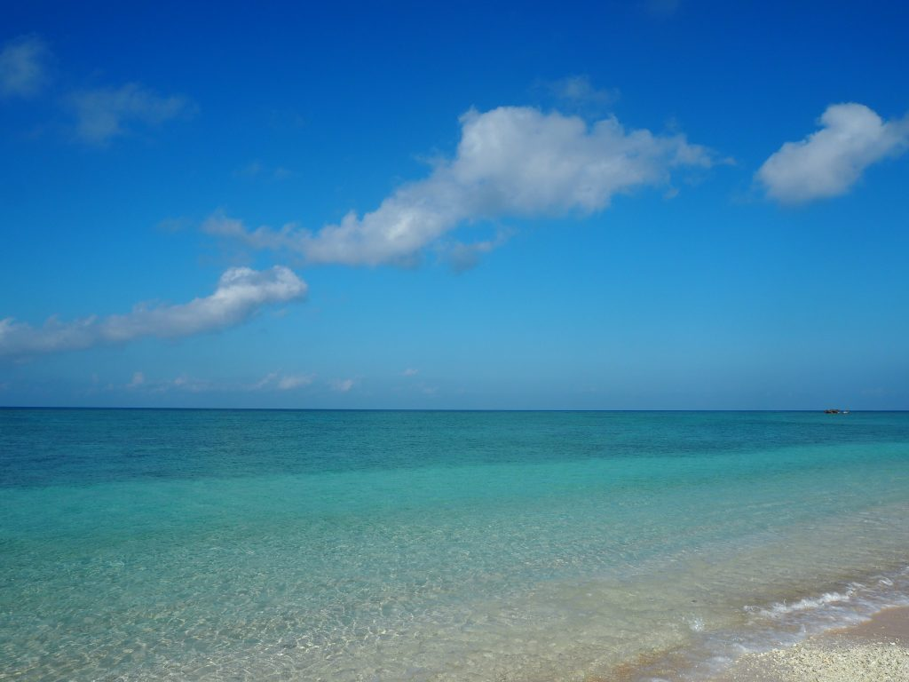 透明度の高い海。まさに「もう1つのニシ浜」だ