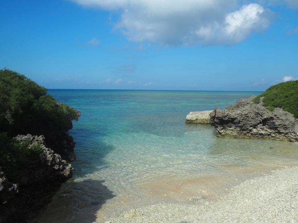 サンゴ(珊瑚)の浜