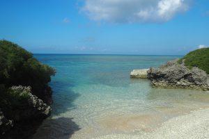 サンゴの浜