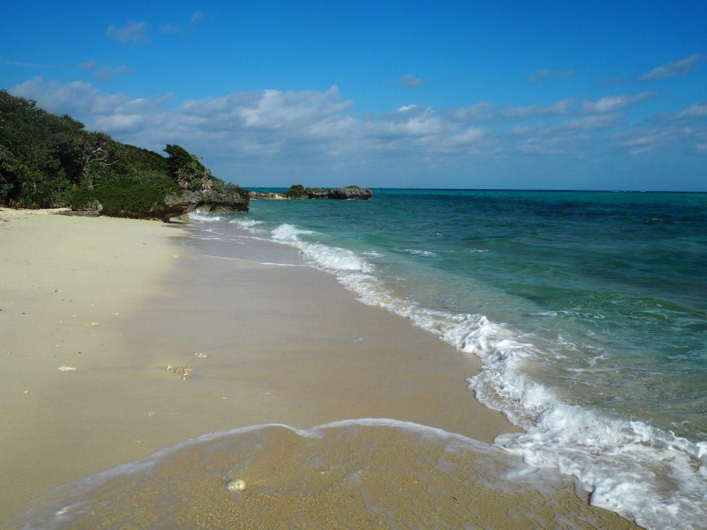 「OHAMAテラス」のビーチ