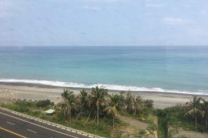 南迴線から望む台湾東海岸の絶景
