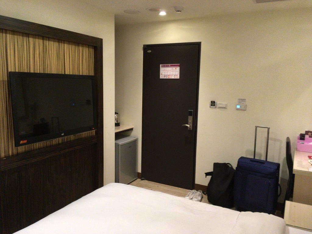 「カイシェンホテル」の部屋