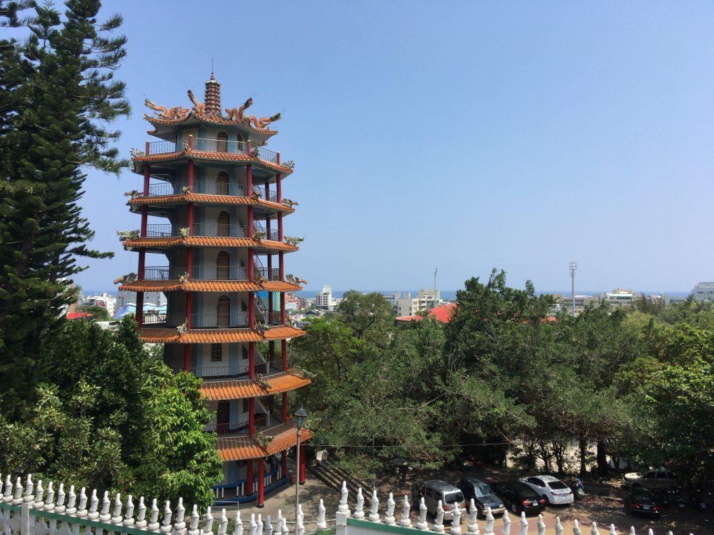龍鳳寺からの眺め