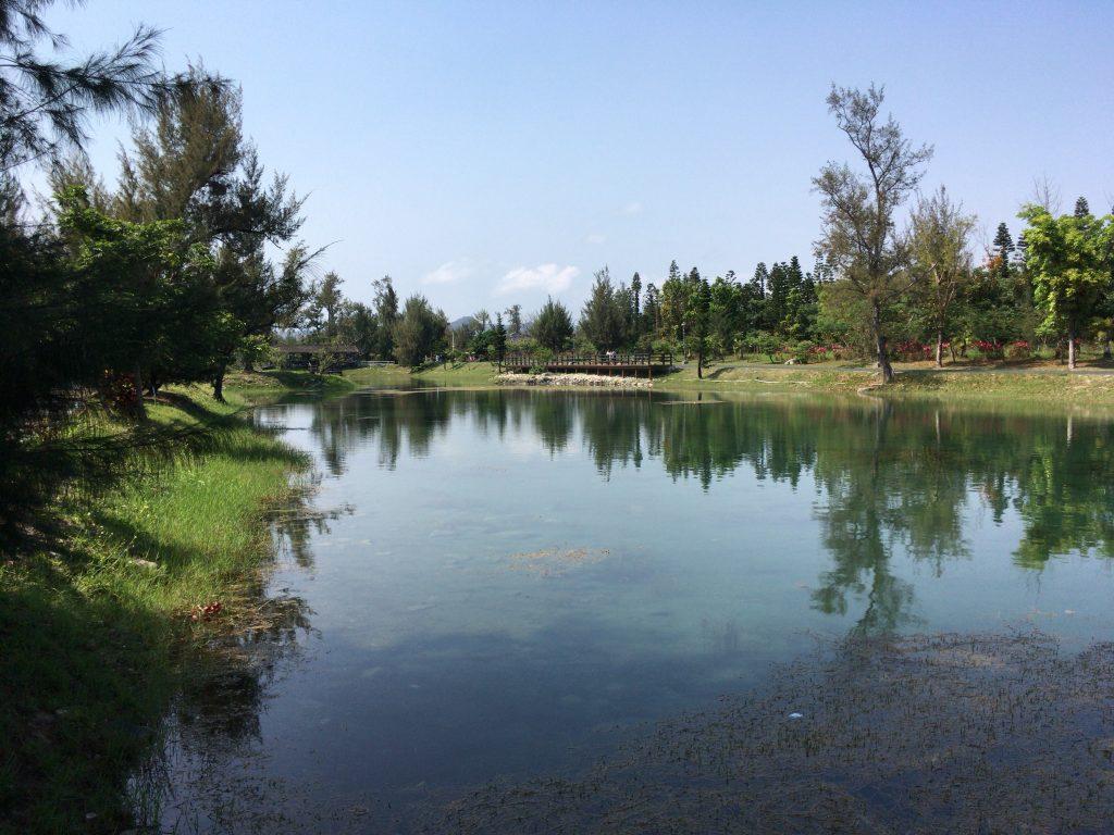台東森林公園の琵琶湖