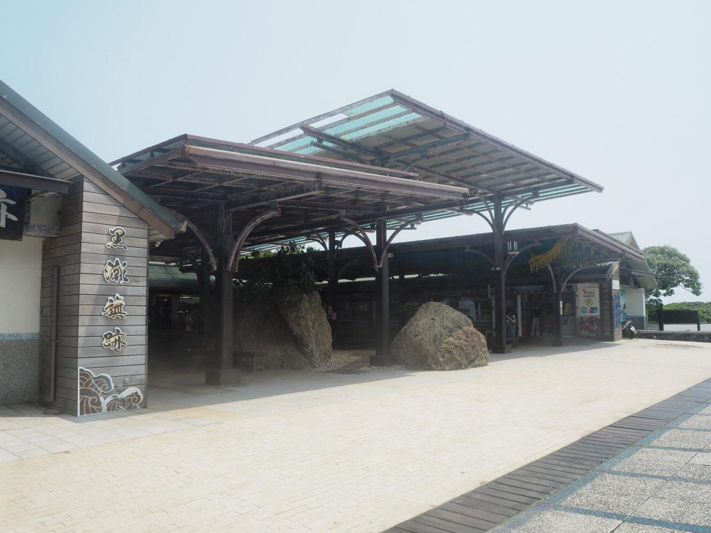 三仙台入り口の建物。ここで準備をしていこう