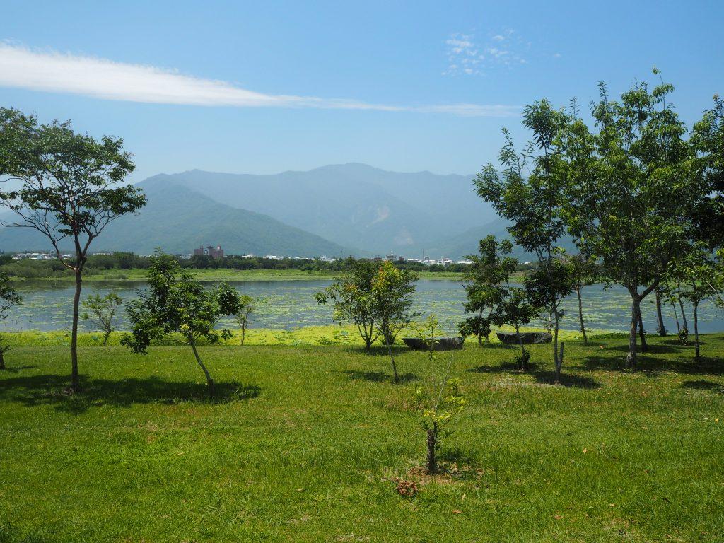 池上駅の南にある大坡池