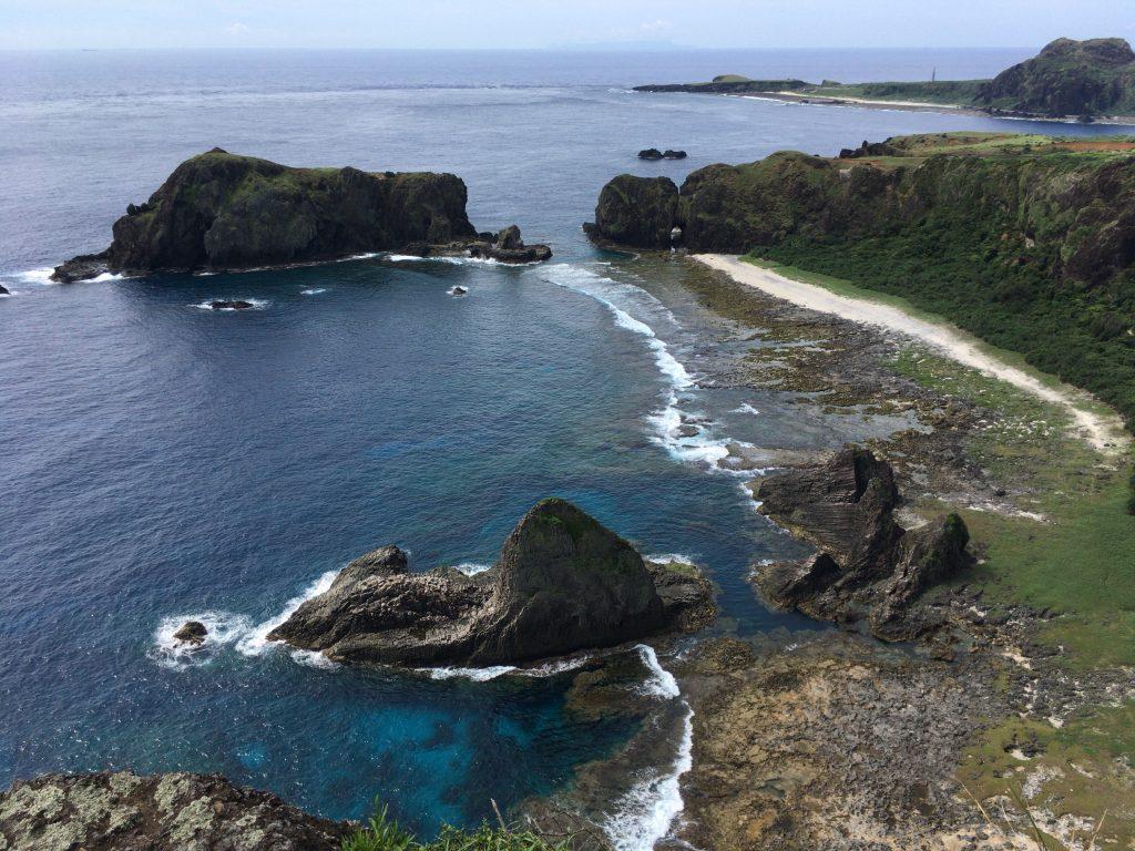 海参坪の展望台からの眺め