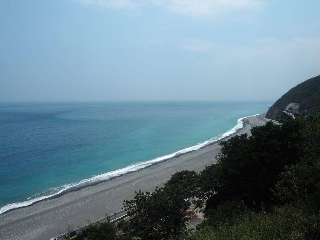 展望台から太平洋を望む