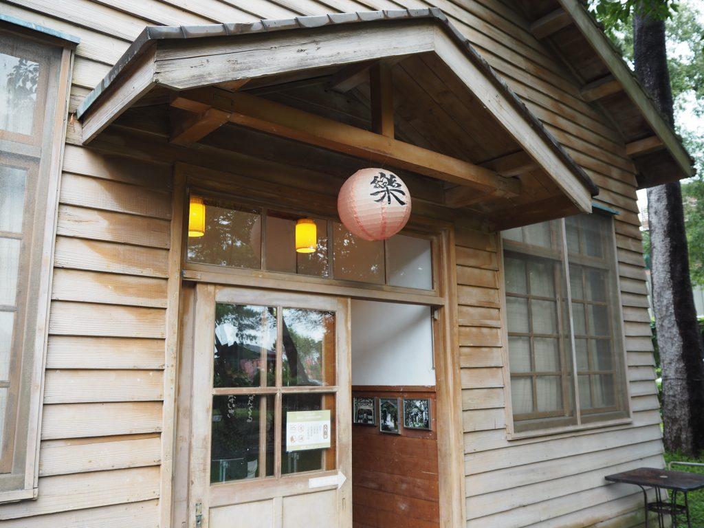 小木屋の外観