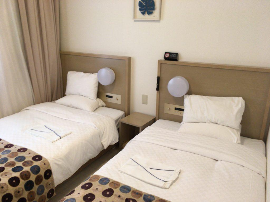 清潔な部屋だ。ちなみにスマイルホテルは全国にある