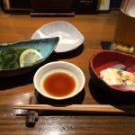 海ぶどう(クビレズタという海藻)とジーマミー豆腐(落花生豆腐)