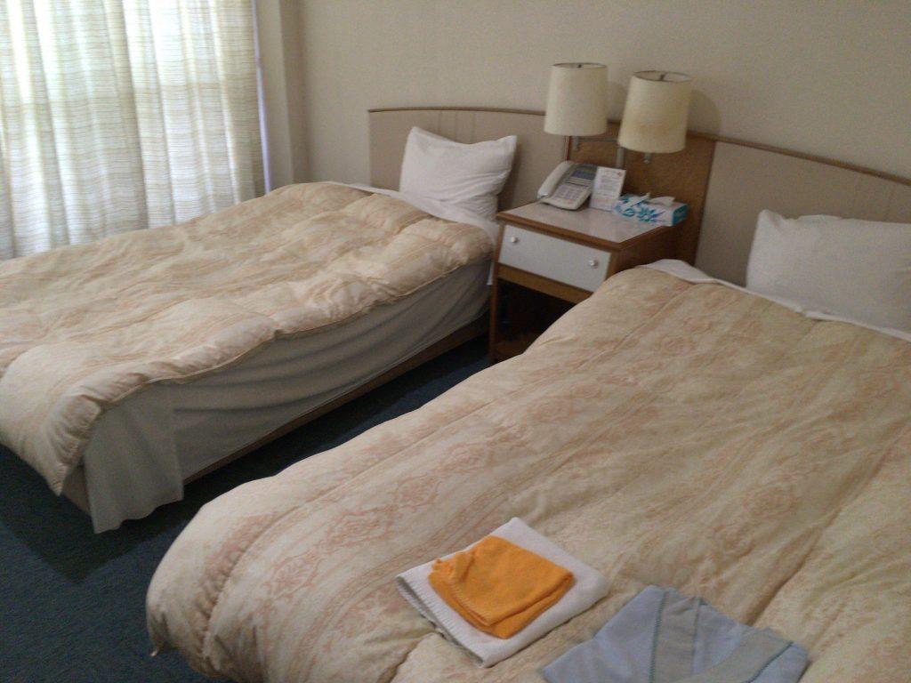 「ホテルガーデンヒルズ」のツインルーム