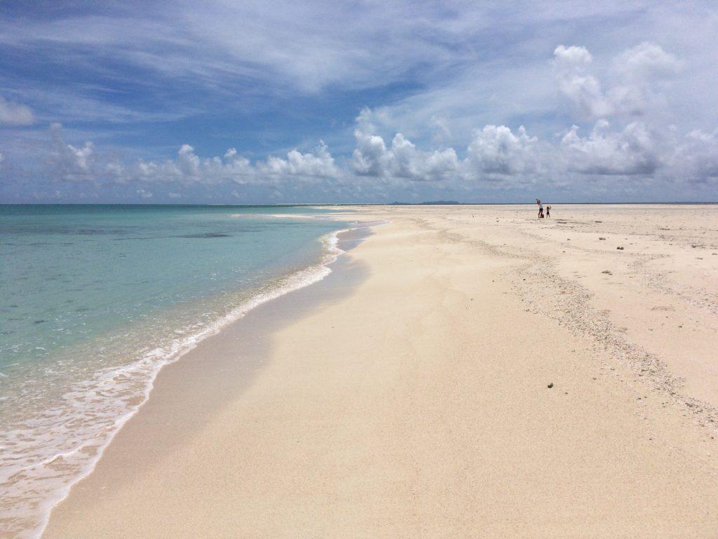 はての浜。これは真ん中のナカノ浜である