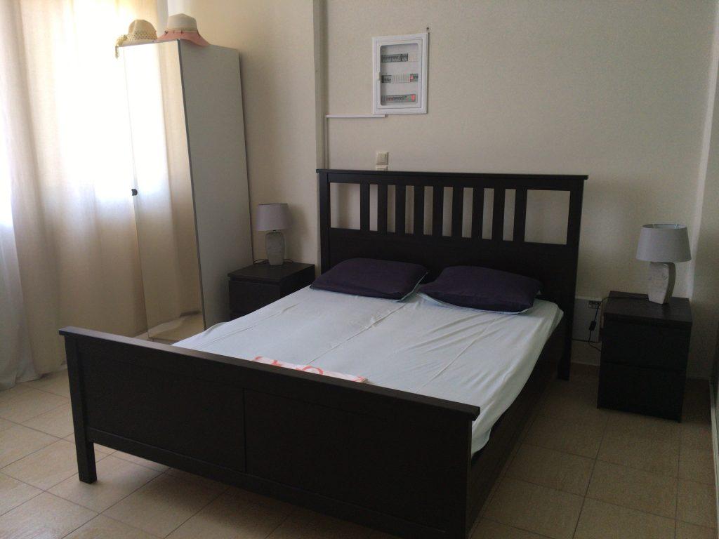 広くて快適なベッドルーム