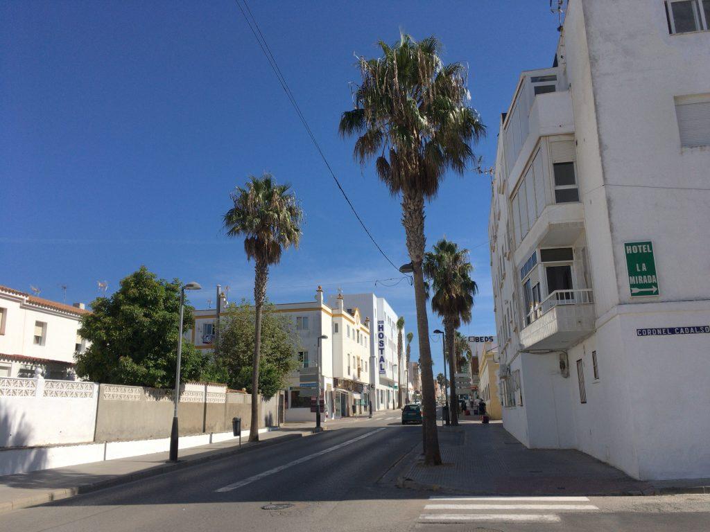 タリファの街を歩く。南国の雰囲気たっぷり