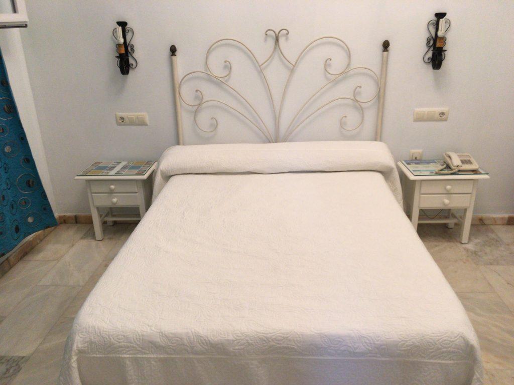 寝心地の良いダブルベッド