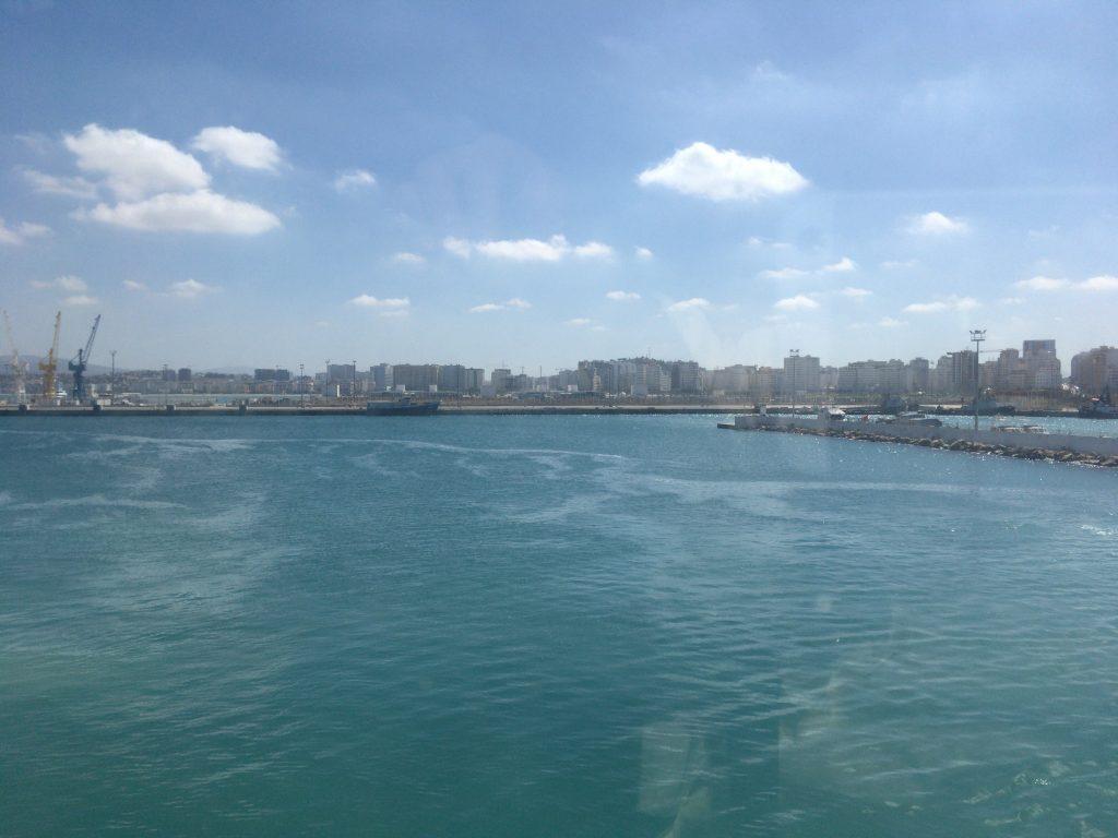 モロッコの旧タンジェ港