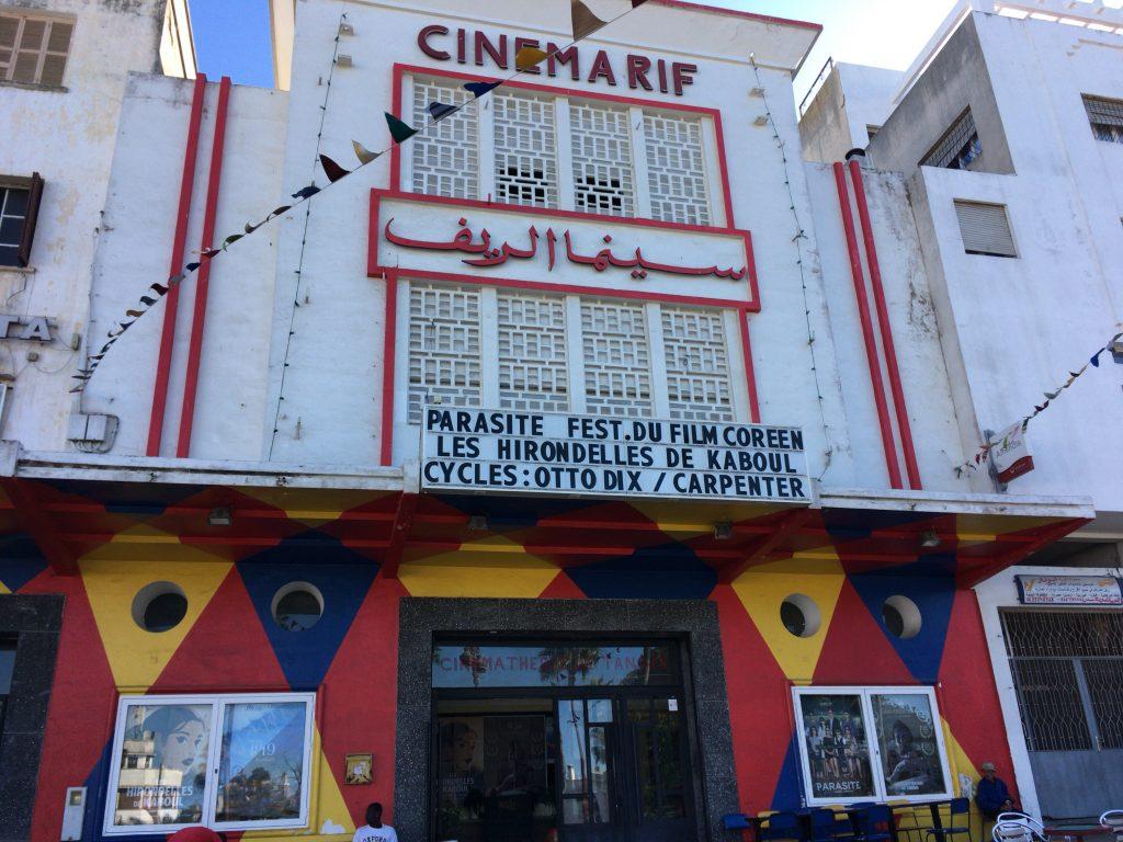 グラン・ソッコにある映画館「シネマ・リフ」