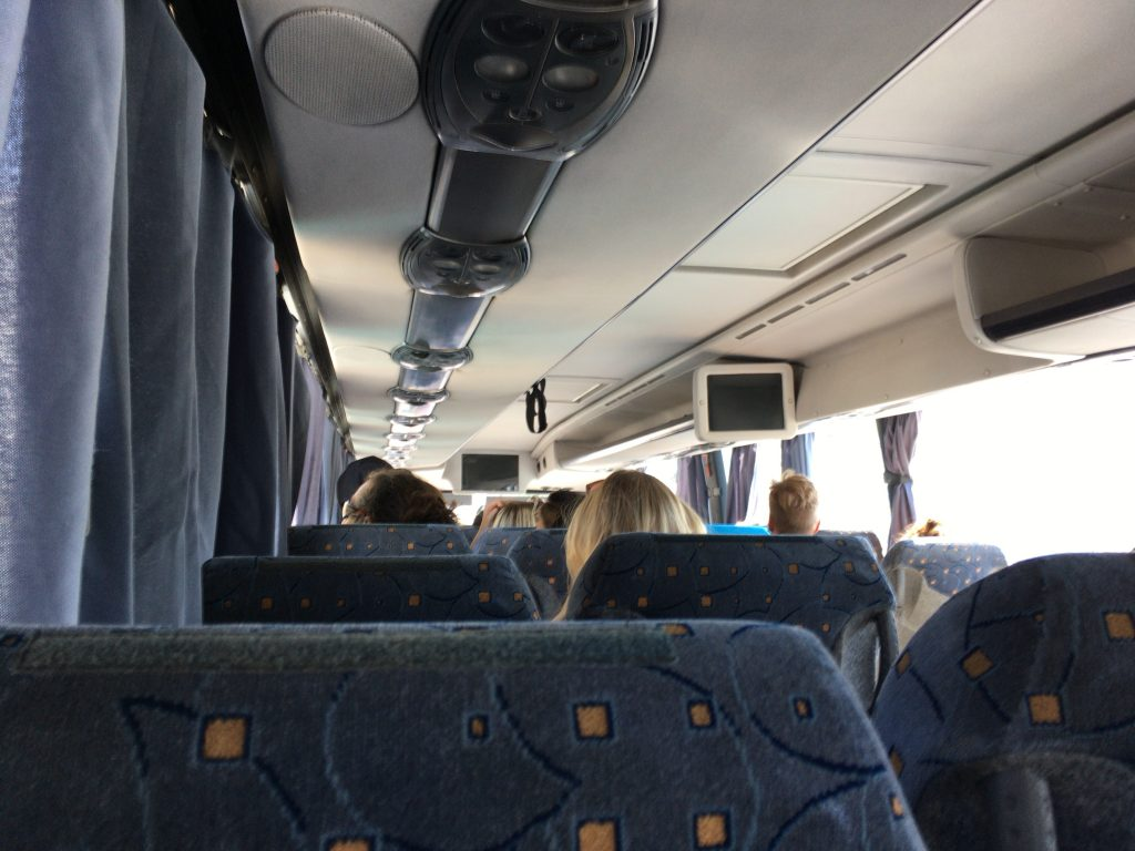 CTMバスの車内
