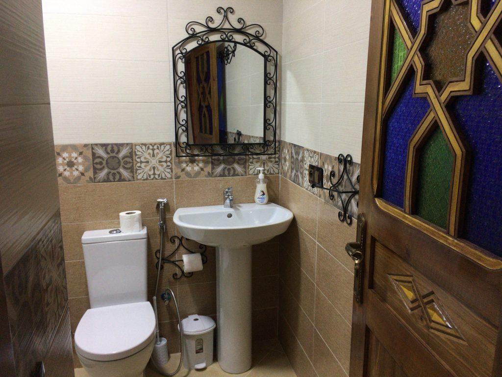 バスルームはこんな感じ