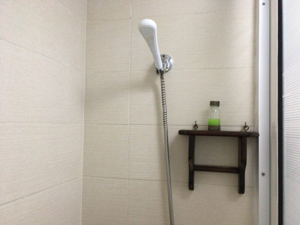 シャワーのお湯もちゃんと出る