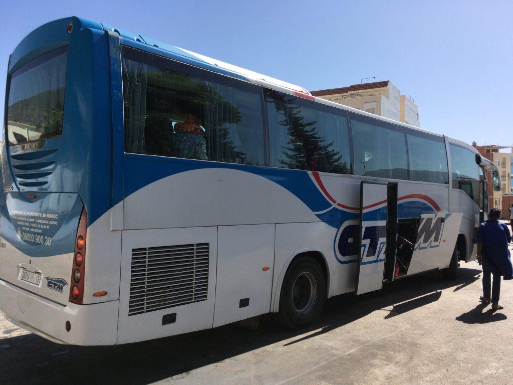 ボルボ製のCTMバス