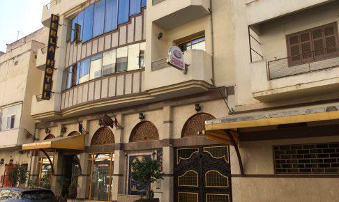 「ペルラ・ホテル」外観