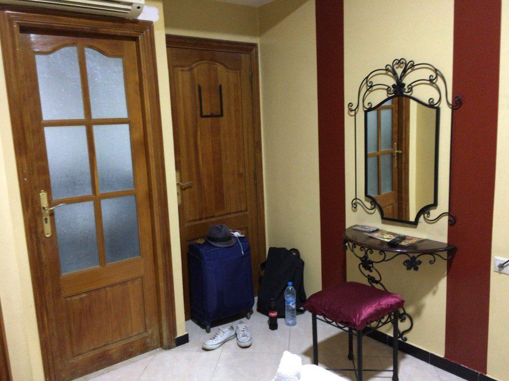 「ペルラ・ホテル」の客室