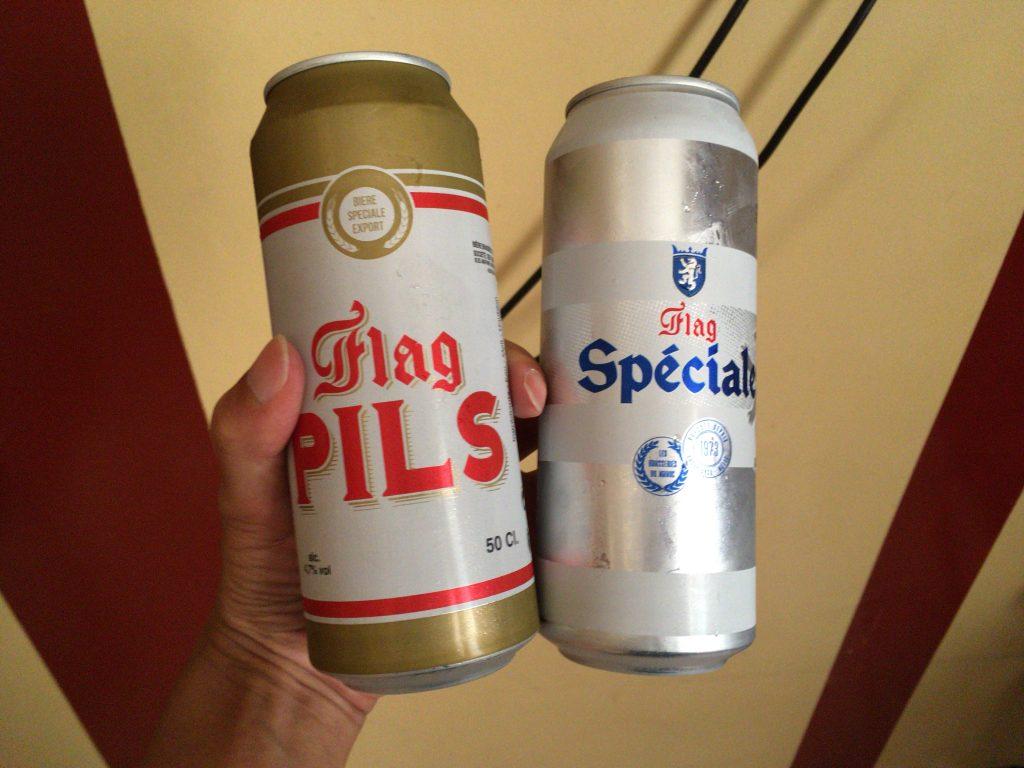 モロッコでは入手が難しいビール。冷蔵庫がないのが残念