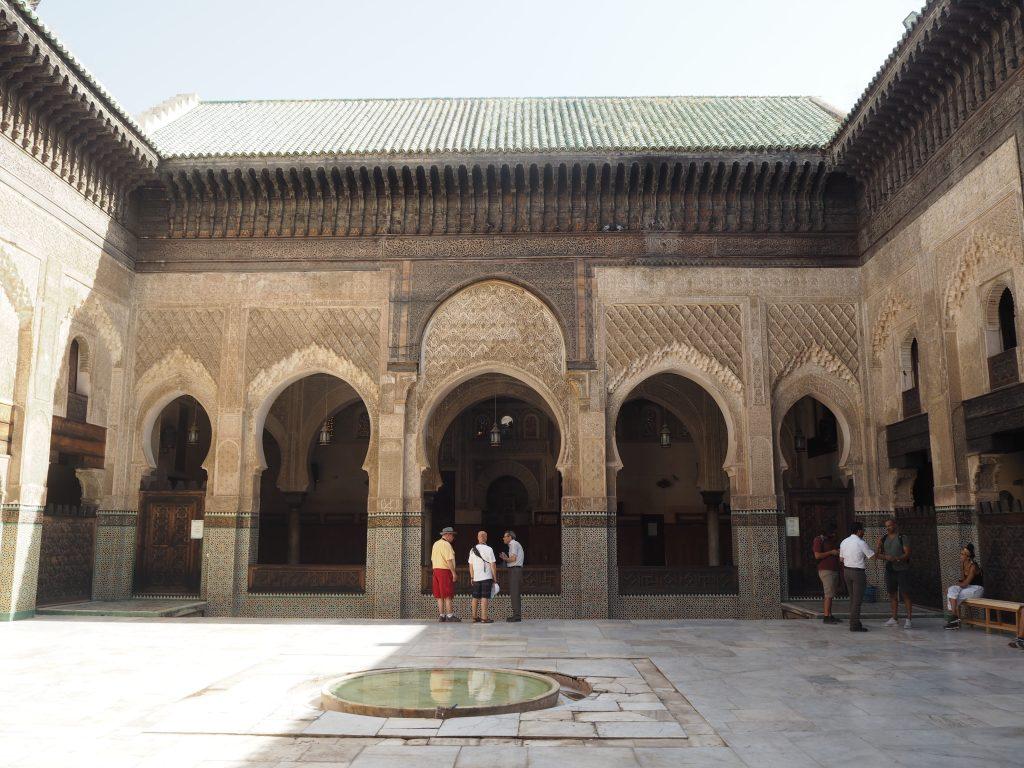 マドラサ・ブー・イナニア。14世紀に建てられたマドラサ(神学校)だ