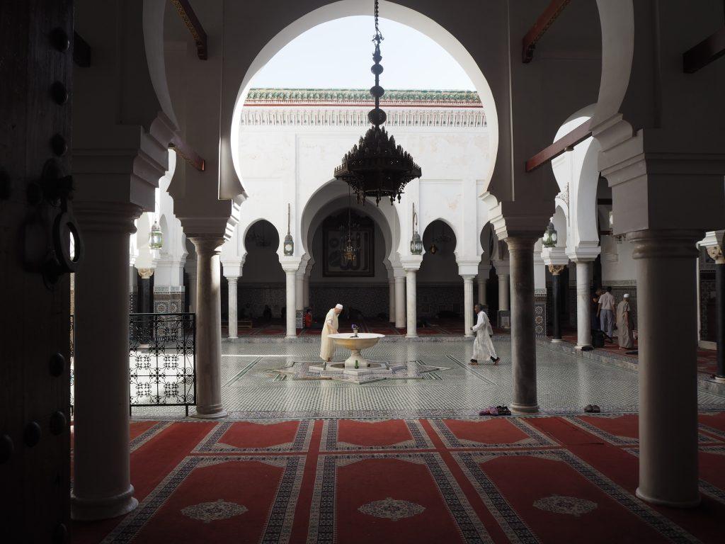 カラウィーン・モスク。非ムスリムは入ることができない