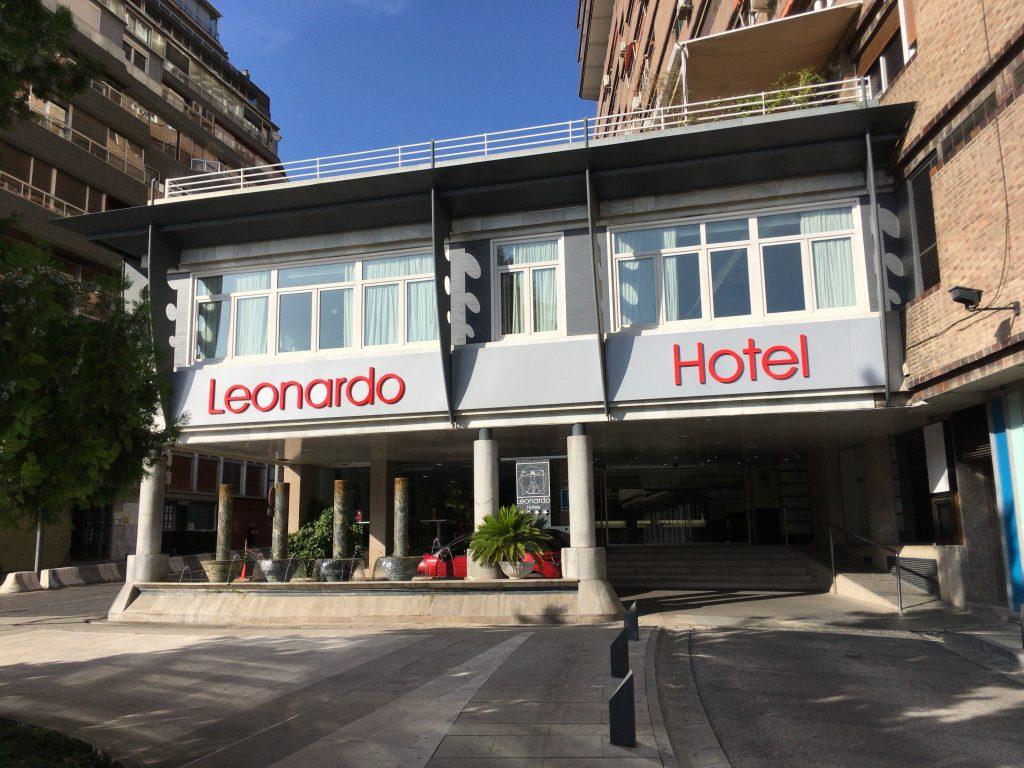 「レオナルドホテルグラナダ」外観