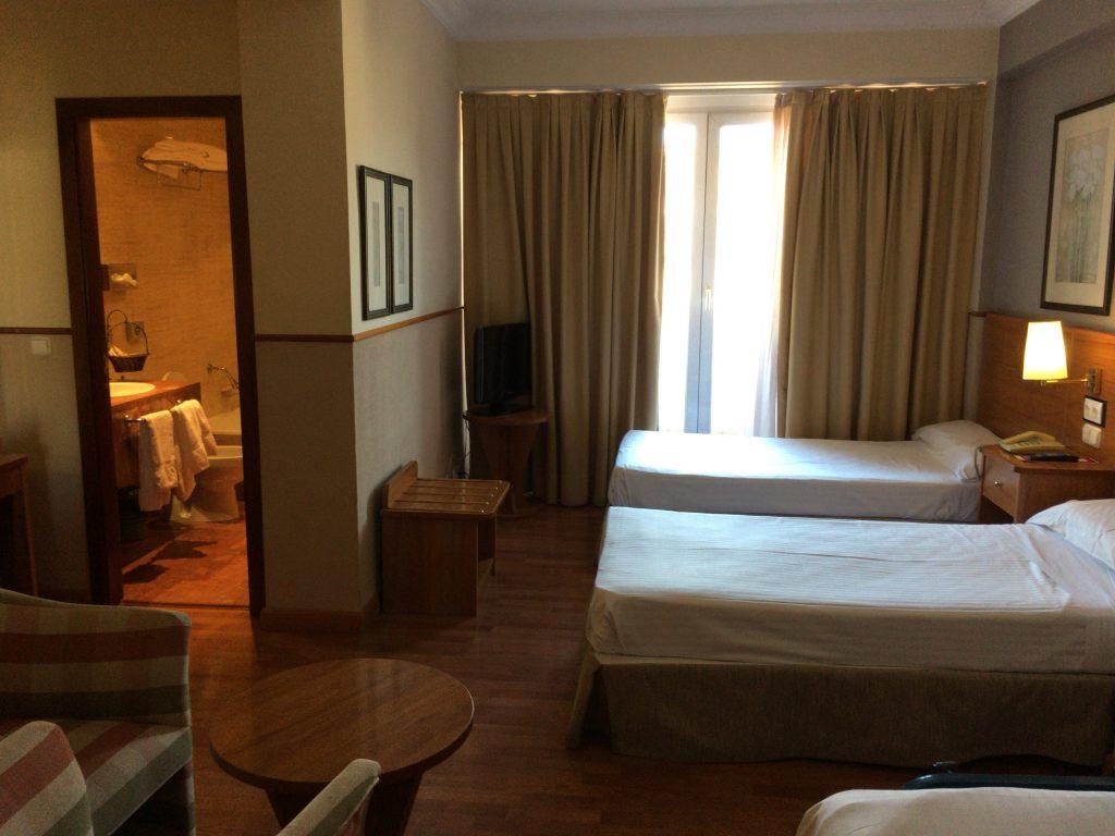 「レオナルドホテルグラナダ」のツインルーム