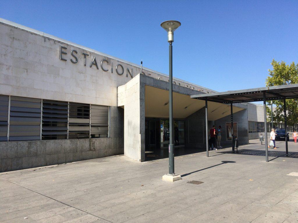 グラナダのバスターミナル