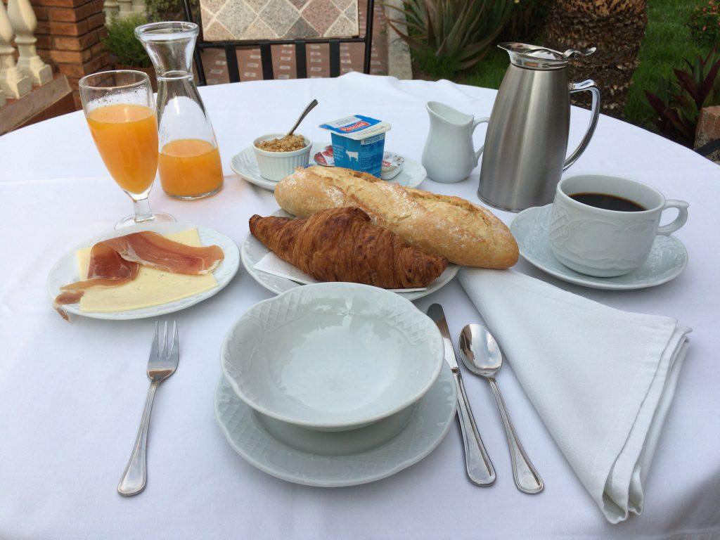 「ホテルモンテビクトリア」の朝食
