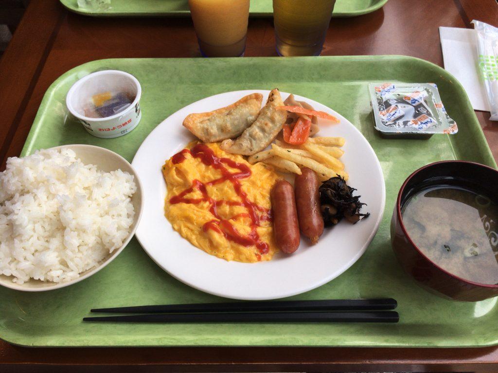「レッドプラネット沖縄那覇」の朝食