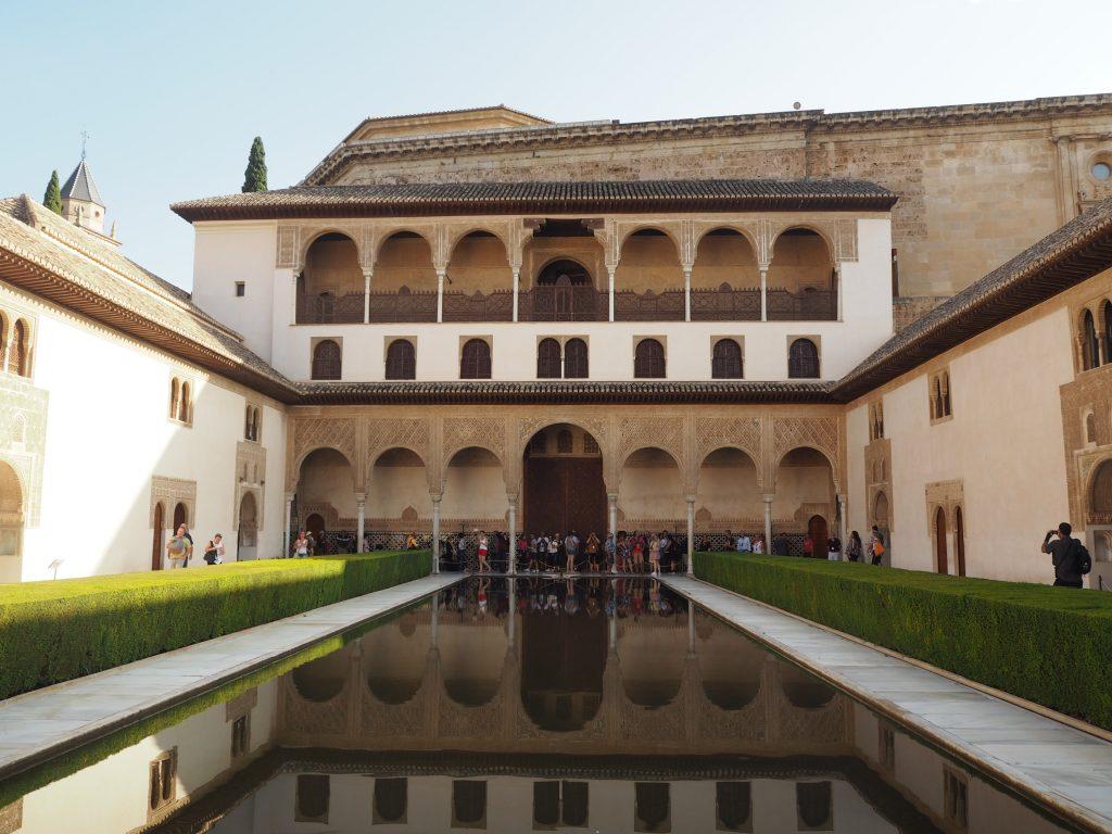 アルハンブラ宮殿の中心部・ナスル宮殿